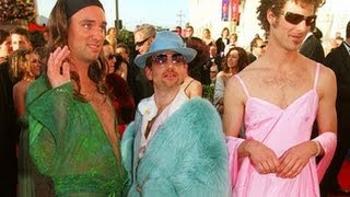 Trey Parker And Matt Stone Tripping Acid At The Oscars