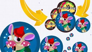 Agario Exclusive Taco Skin Epic Solo Dominating!(Agar.io Best Moments)