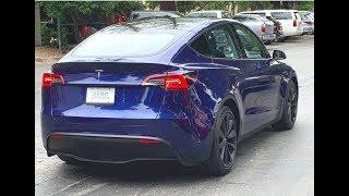 Photo of Tesla Model Y on the Street