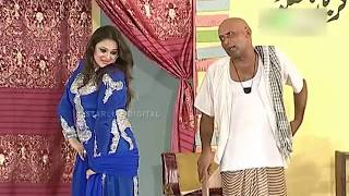 Best Of Priya Khan and Akram Udass New Pakistani Stage Drama Full Comedy Clip