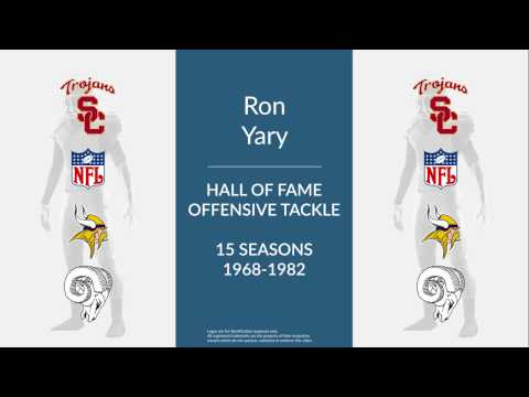 Ron Yary Hall of Fame Football Offensive Tackle