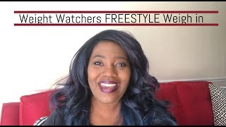 Weight Watchers FREESTYLE • Weekly Weigh In• 3/23/18