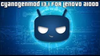 CyanogenMod 13.1 ROM for Lenovo A1000