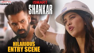 iSmart Shankar Hindi dubbed movie (2020) | Ram Pothineni & Nabha Natesh  Hilarious Entry Scene