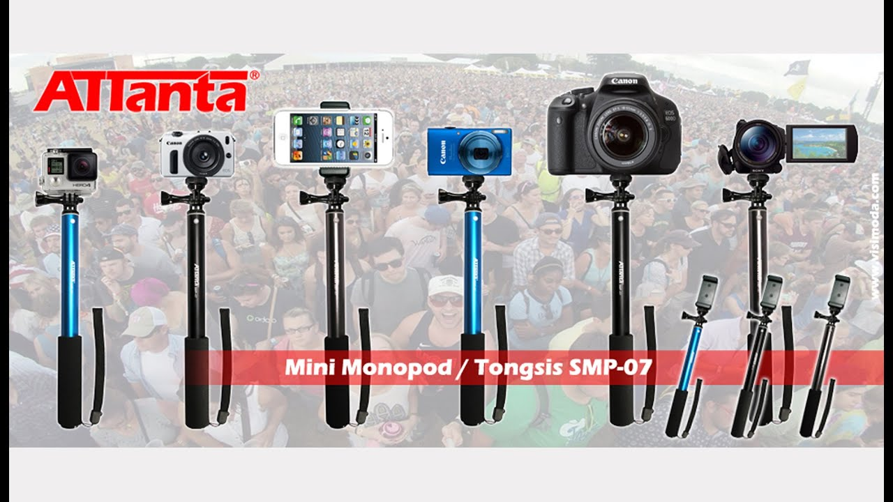 11 I One Monopod Tongsis For Go Pro Dslr Xiaomi Yi