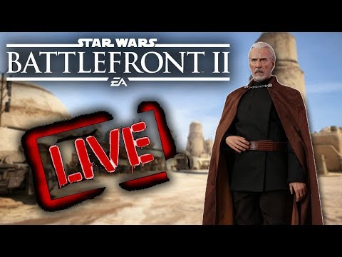 Hello There! Roughly 24 Hours Until Dooku! Star Wars Battlefront 2 Live! thumbnail
