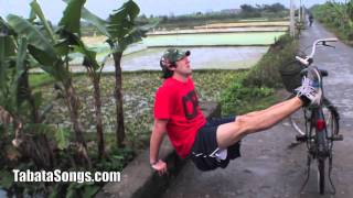 Tabata Workout in Vietnam w/Music from TabataSongs