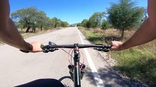 Ghost mountain bike Rampa inişi Güneykent