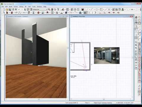 Building Bathroom Stalls Using Chief Architect YouTube - Cheap bathroom stalls