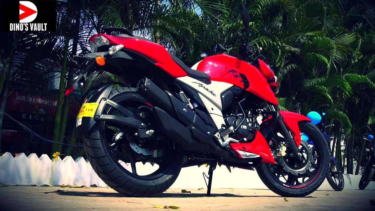 apache rtr 160 4v first ride review all 3 colors walkaround bikes