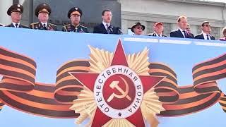 Парад Победы в Самаре 9 мая 2018 года