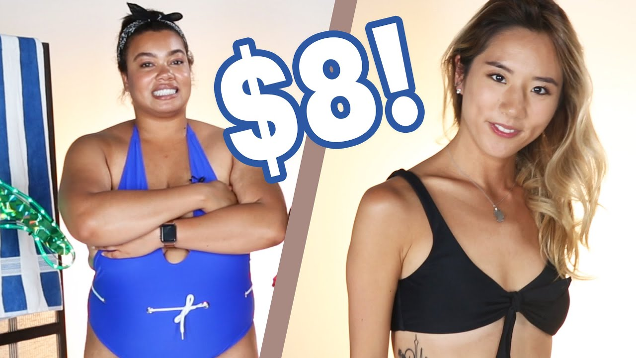 Women Try Amazon Swimsuits Under $8