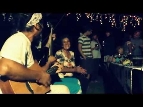 Sau Rapa Nui Traditional Song Tapati 2013 Backyard Party