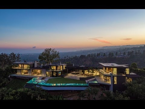 $50,000,000 ULTRA MODERN MEGAMANSION BEVERLY HILLS