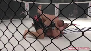 Max Ozgon vs Filip Szczepaniak [PODDANIE] | West Fighting MMA 5