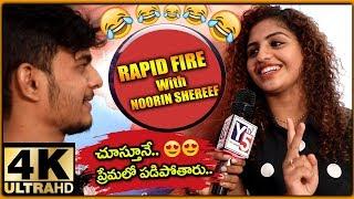 Rapidfire With Lovers Day Movie Heroine Noorin Shereef | Priya Prakash Varrier | Y5 Tv