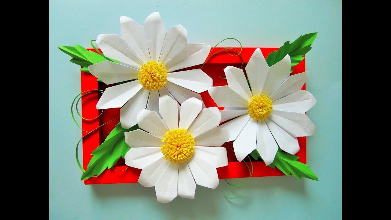 Diy Marguerite Gänseblümchen Origami