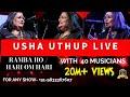 Usha Uthup Live I Bappi Lahiri I Ramba Ho I Hari Om Hari I Anant Musical Dreams I #UshaUthuplive