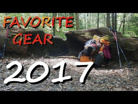 My favorite backpacking gear of 2017