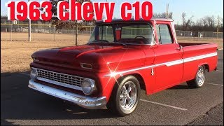 1963 chevy c10 walk around/drive