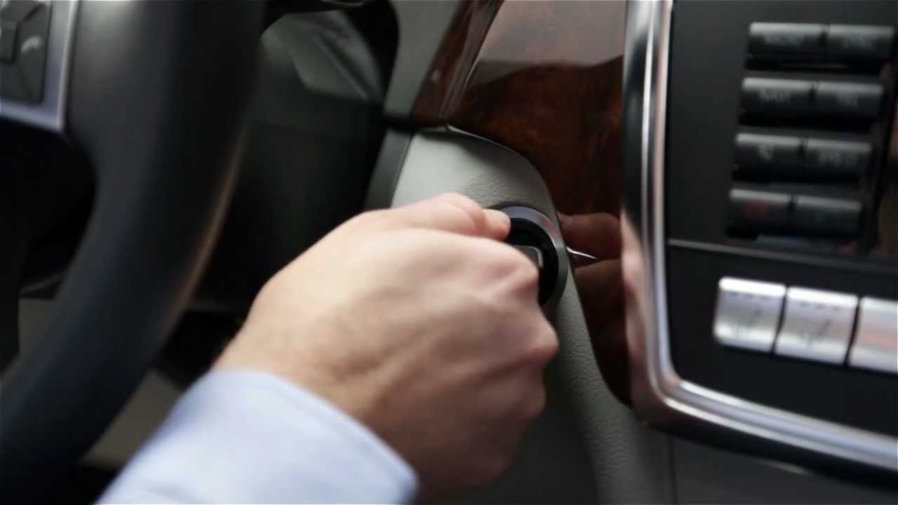 How to Use Push Button Start In Your Mercedes-Benz
