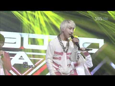 AA - So crazy (더블에이-미쳐서 그래) @SBS Inkigayo 인기가요 20111113