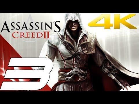 Assassin's Creed 2 - Walkthrough Part 3 - Uberto Assassination [4K 60FPS]