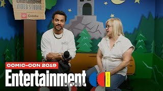 Jesse Williams Talks 'Detroit: Become Human' LIVE | SDCC 2019 | Entertainment Weekly