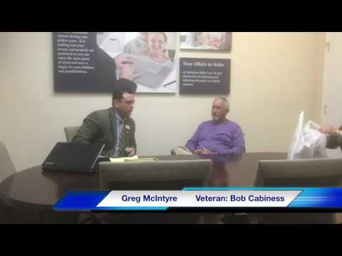 Lunch With a Veteran: Marine w/ 2 Purple Hearts, Bob Cabaniss...
