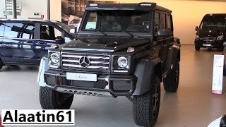 Mercedes-Benz G500 4x4² 2017 In Depth Review Interior Exterior