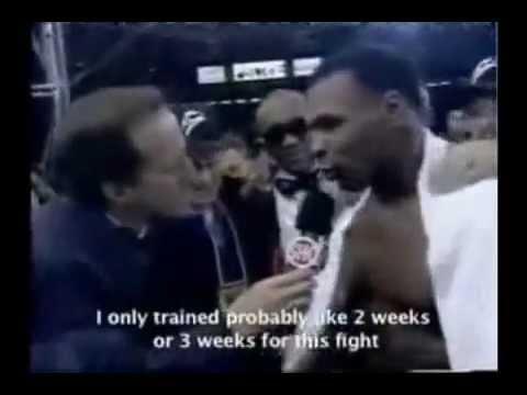 Iron Mike Tyson Motivational Speech