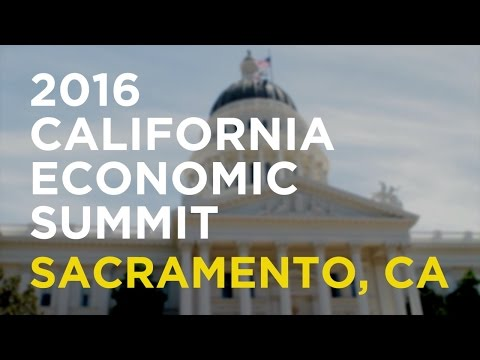 2016 California Economic Summit Opening
