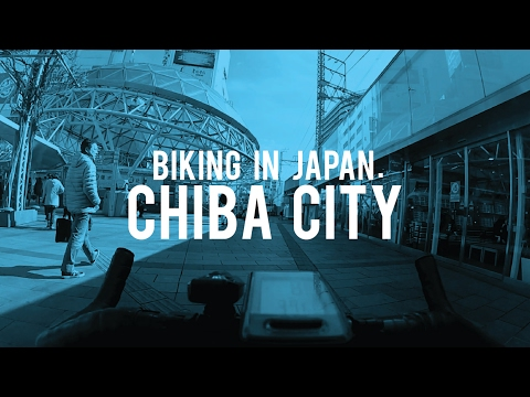 Biking in Japan: Chiba City