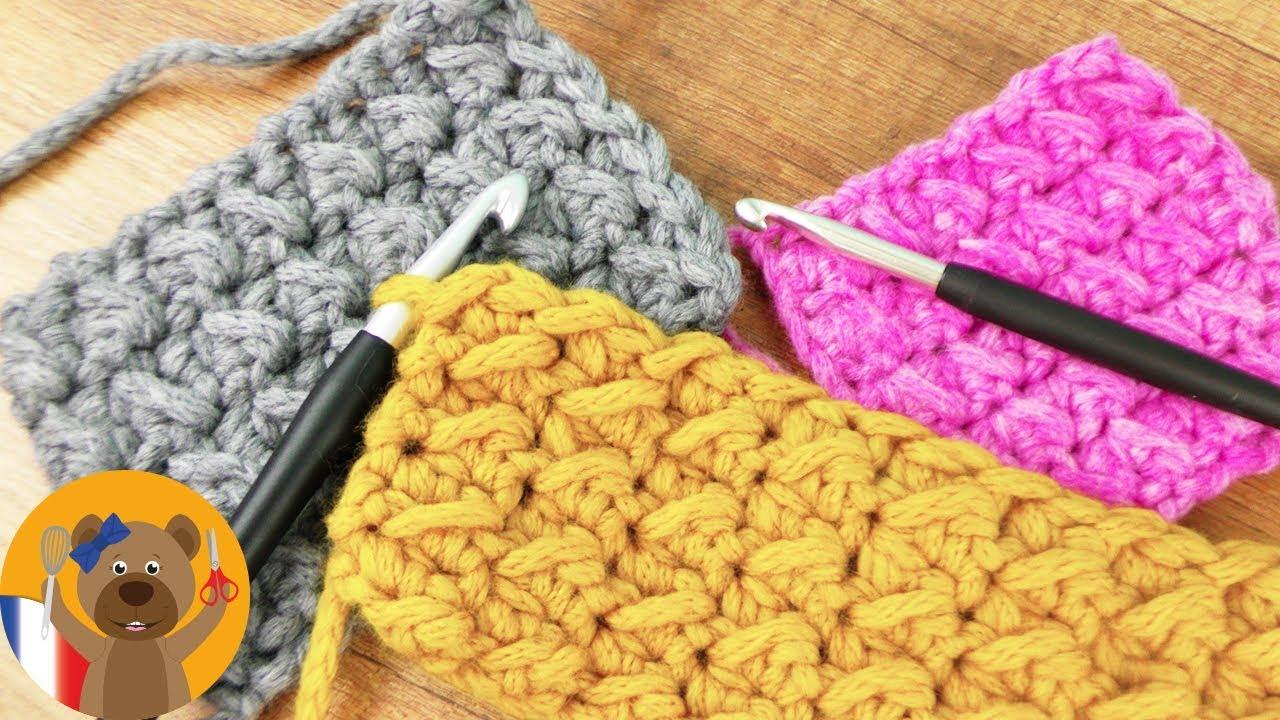 super motifs de crochet en mailles & demi-brides | super simple