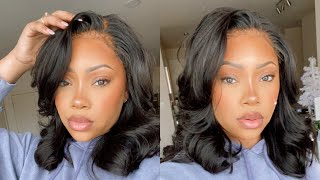 Silk Press or Wig? Body curls with T3 | YouthBeauty