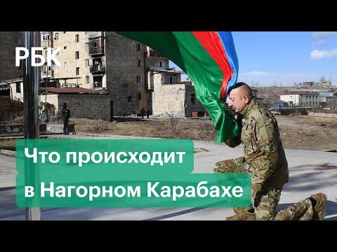 «Не Шуши, а Шуша» — Алиев отправился в Шушу за рулем — видео поездки президента в Нагорный Карабах