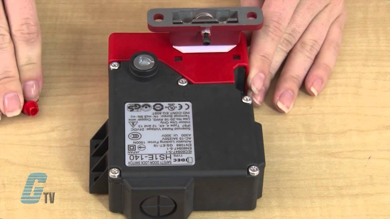 hight resolution of idec hs1e series mechanical safety switches a galcotv overview