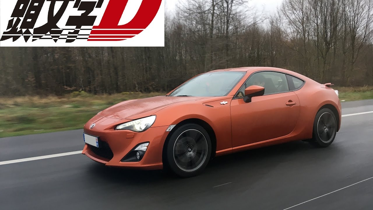 toyota gt86 gas gas gas initial d youtube