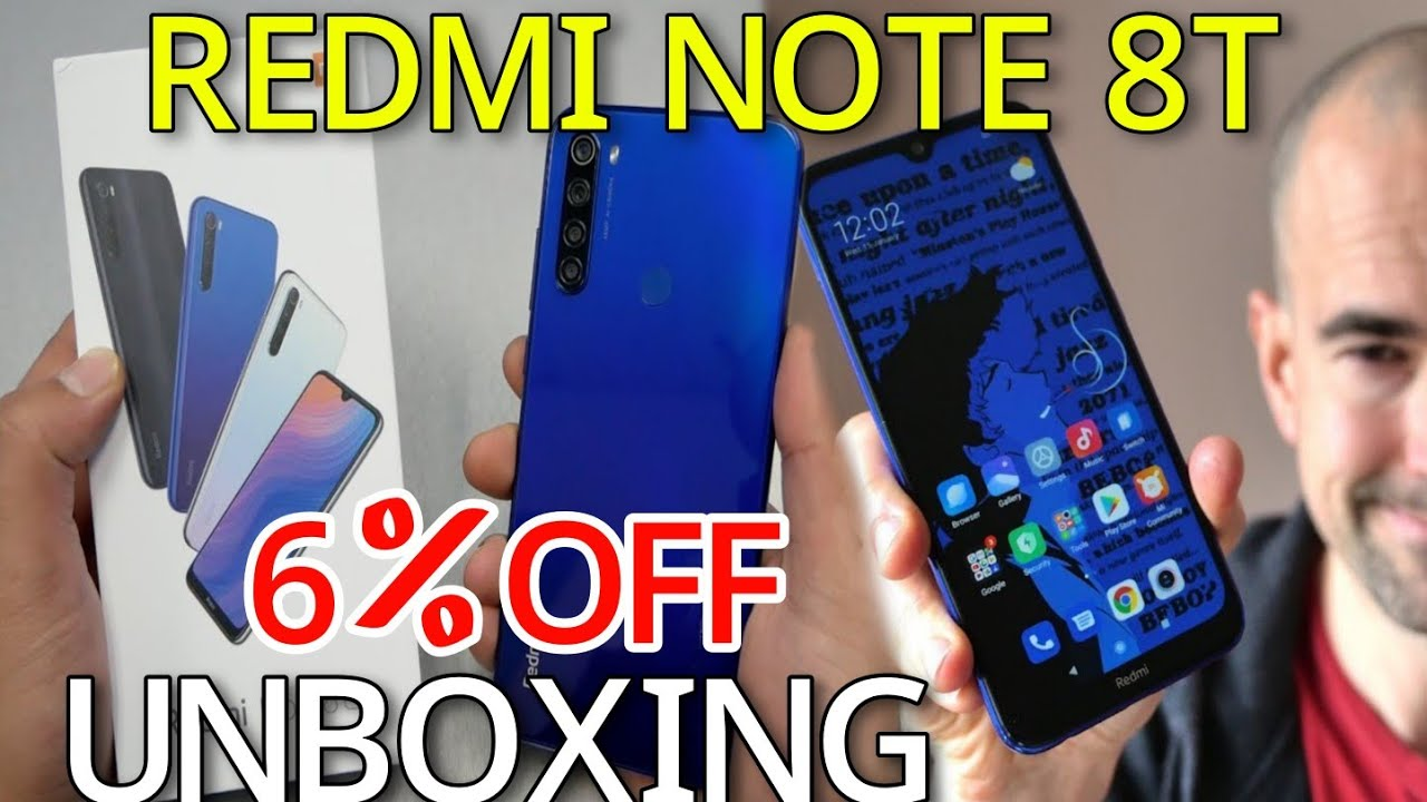 Best Redmi Note 8T Unboxing | Redmi Note 8T Review | AB Sell Express