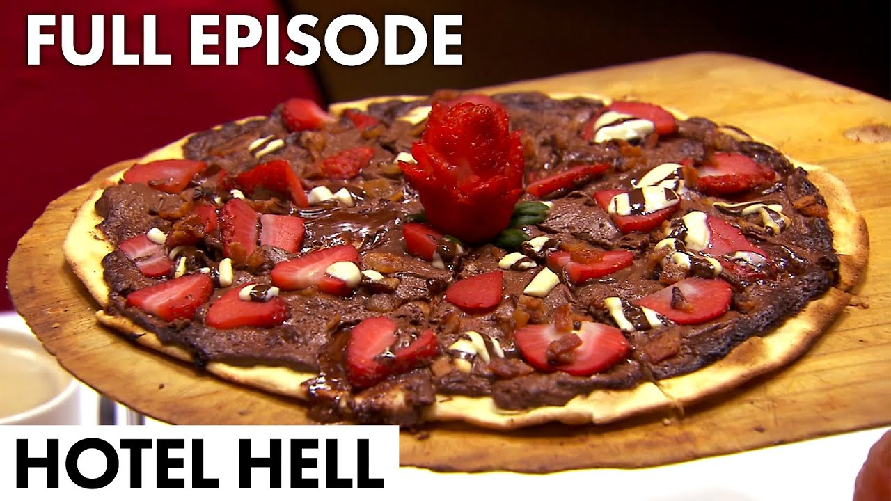 Download Gordon Tries A CHOCOLATE PIZZA   Hotel Hell FULL EPISODE