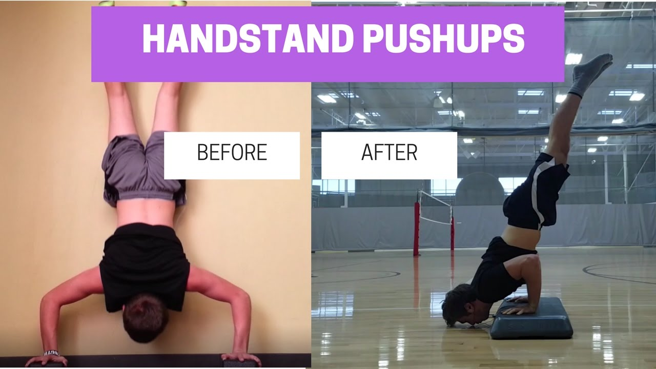 Image result for Handstand Push-Up Progressions