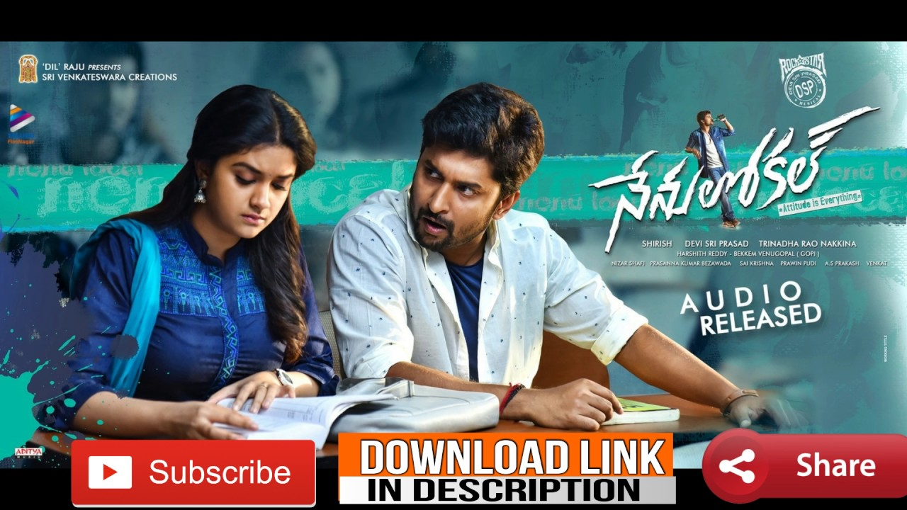 Arere Yekkada ONLY Music Song #nenulocal