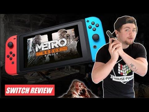 Metro Redux The New BEST Nintendo Switch FPS?