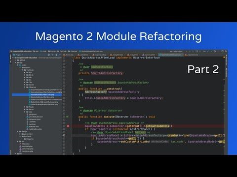 Magento 2 Refactoring - Observers & Custom Attribute