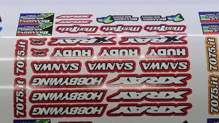 Gambar cover Mon-tech Racing Toy Car Sticker Print on FastCOLOUR Printer and Cut on V Auto Vinyl Cutter