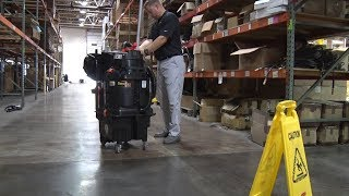 Warehouse Cleaning with The OmniFlex AutoVac