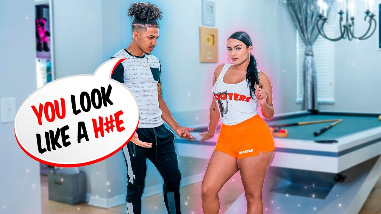I GOT A JOB AT HOOTERS PRANK ON FIANCE!! **GONE WRONG**