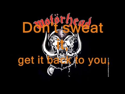 Motorhead Overkill lyrics