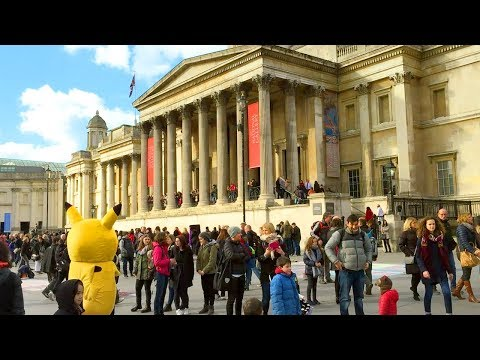 Trafalgar Square (incl. The National Gallery & Nelson