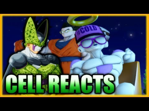 Perfect Cell Reacts To Frieza Joins The Universe 7 Team